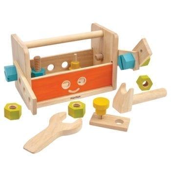 PlanToys-HolzWerkzeugkastenRoboter1