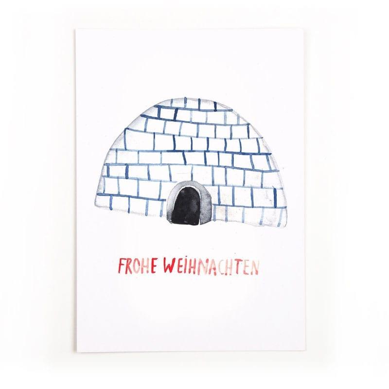 postkarte frohe weihnachten yolyo. Black Bedroom Furniture Sets. Home Design Ideas