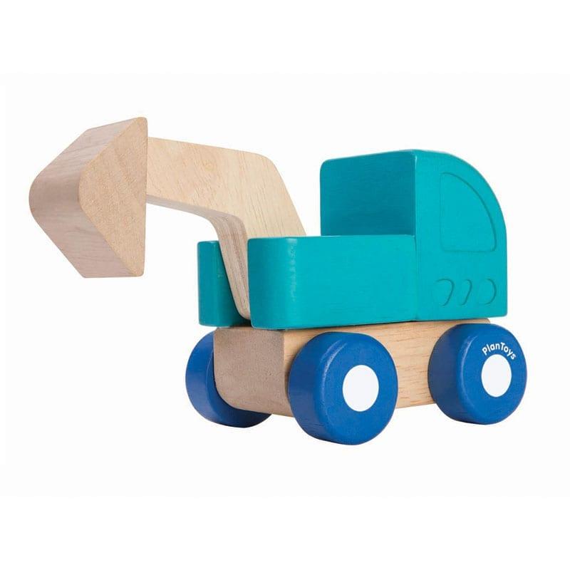 88d7d97e8bbbaa Mini Bagger aus Holz